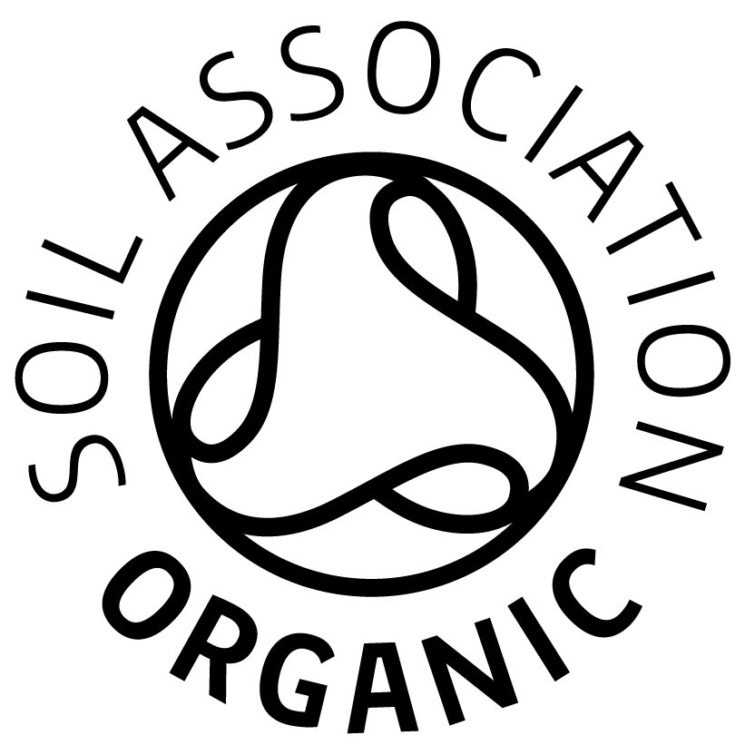 Certified organic by the Soil Association